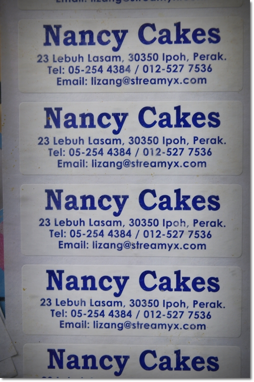 Nancy Cakes Address