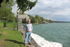IMG_2976:  Bill by Lake Skaneateles