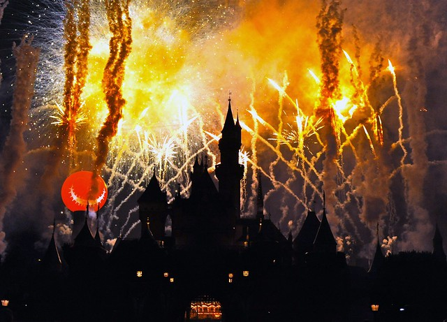 Halloween Screams Fireworks at Disneyland