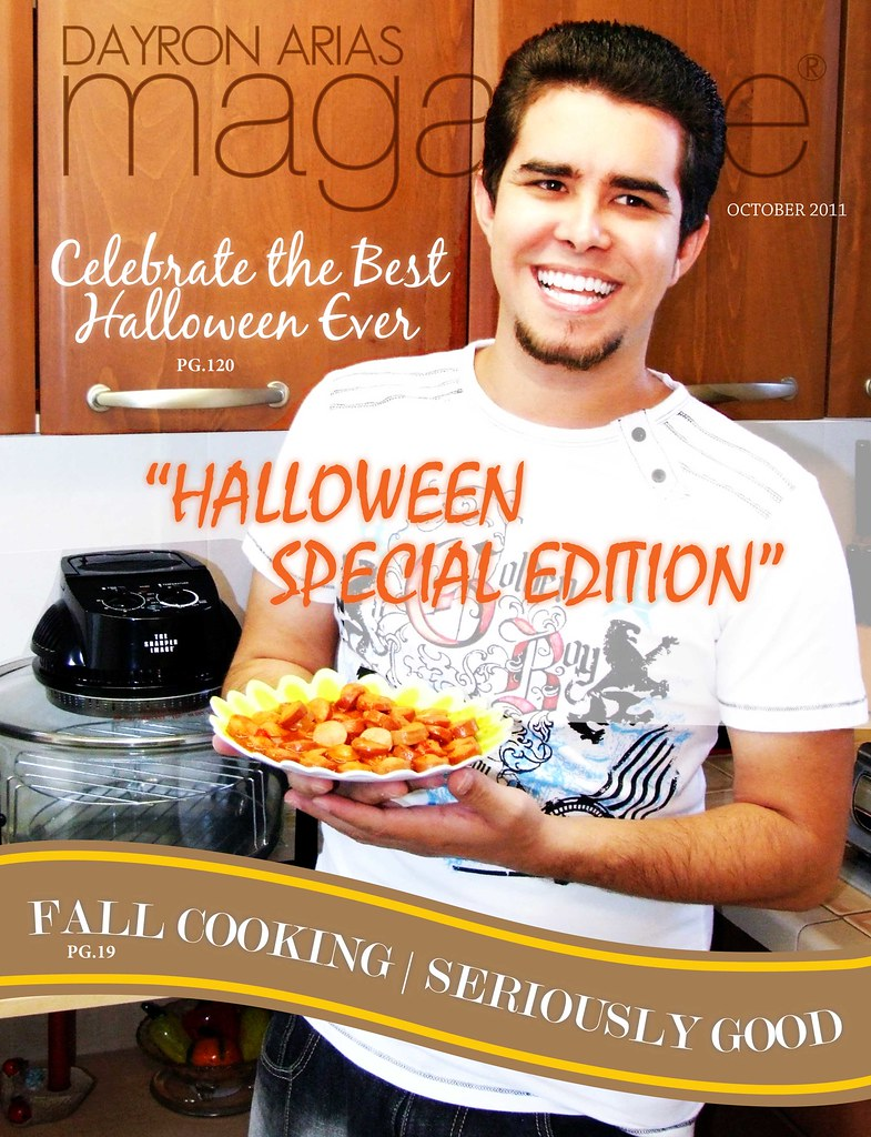 Dayron Arias Magazine - October 2011