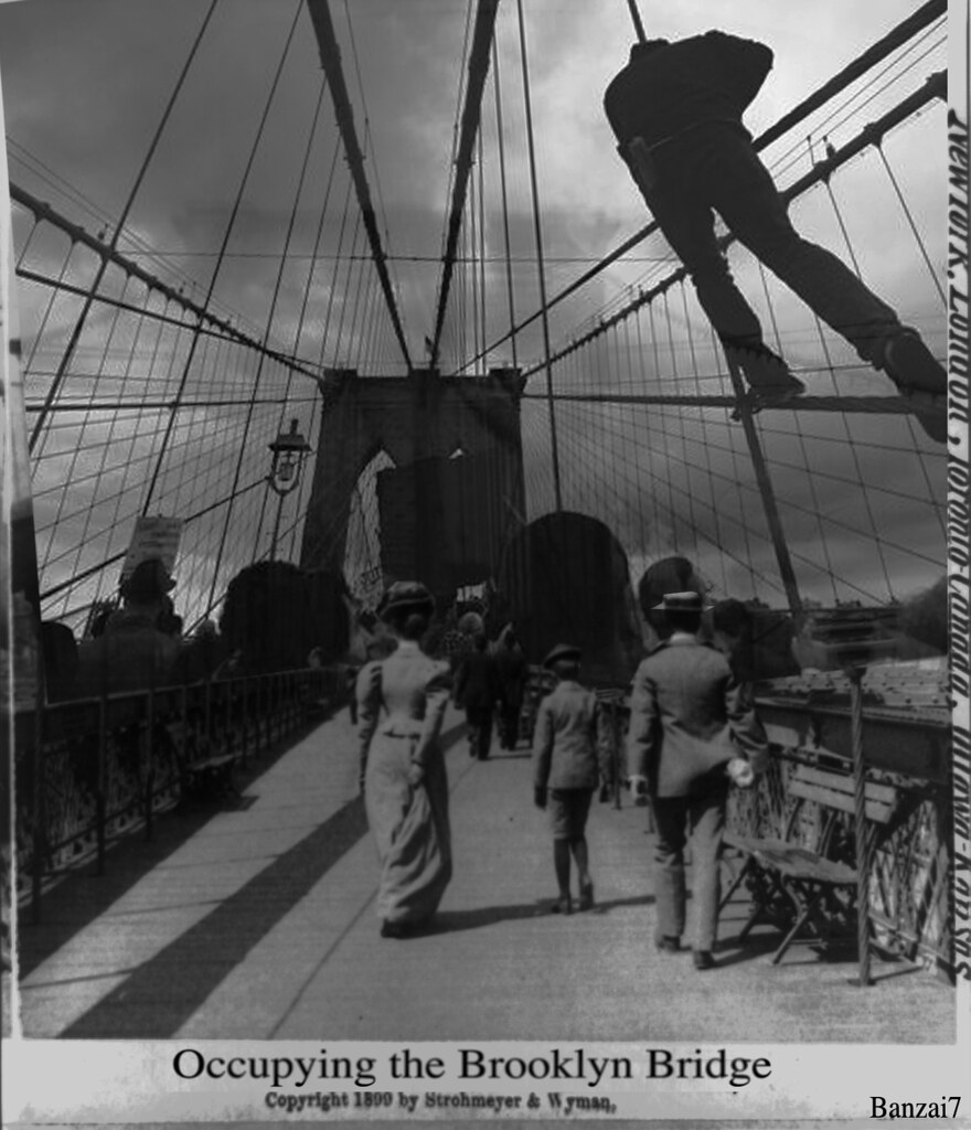 OCCUPYING BROOKLYN BRIDGE