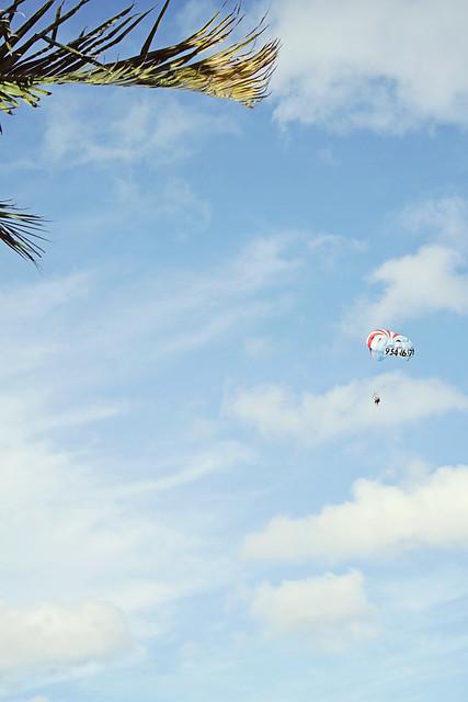 Fort Lauderdale beach parasailing 2