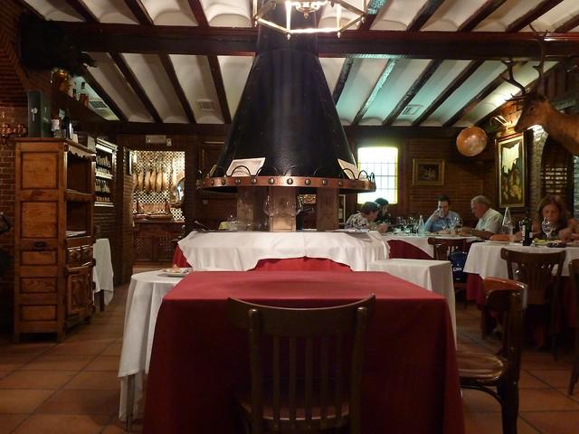 Salón del Restaurante El Molino