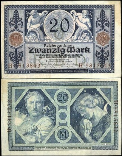 20 Mariek Nemecko 1915, Pick 63