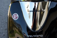 Vespino vs. Self Portrait (Klaus Mayer) Tags: reflections chrome spiegelung reflexionen vespino afsdxvrzoomnikkor18200mmf3556gifedii