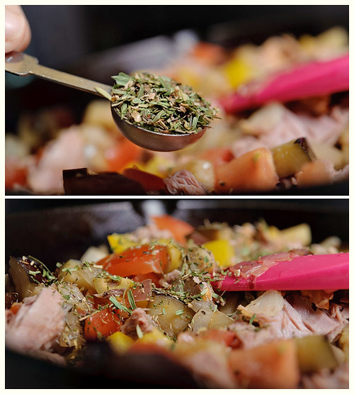 Vegetable Tuna Roll