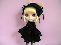 Melody Star (Helena / Funny Bunny) Tags: doll blythe rbl funnybunny btssb babythestarsshinebright solidbackground hoshinonamidahime melodystar fbfashion