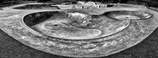 skate park, Glasgow, Kelvingrove