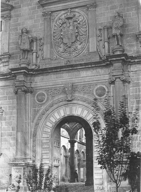 Fotografía de Charles Clifford. Alcázar de Toledo hacia 1858