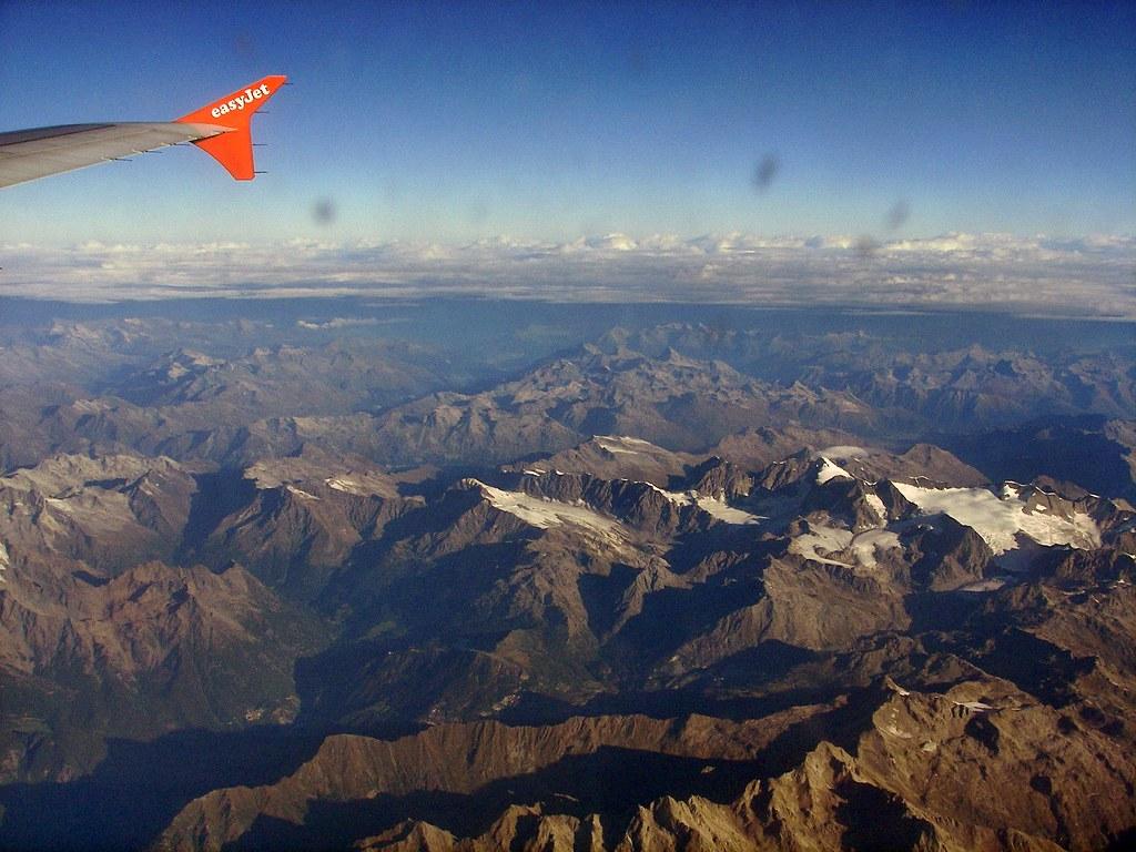 Piz Bernina - 4.048,6 m .. Piz Palú - 3.901 m - Suiza
