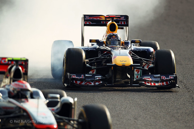 Sebastian Vettel Red Bull RB7 F1 Suzuka 2011 4