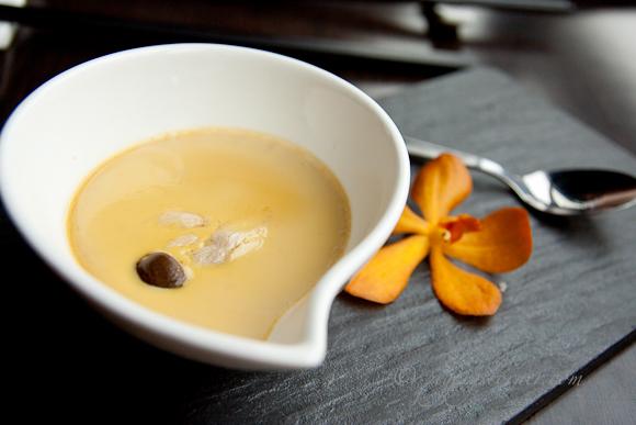Dozo, Singapore-foie gras custard
