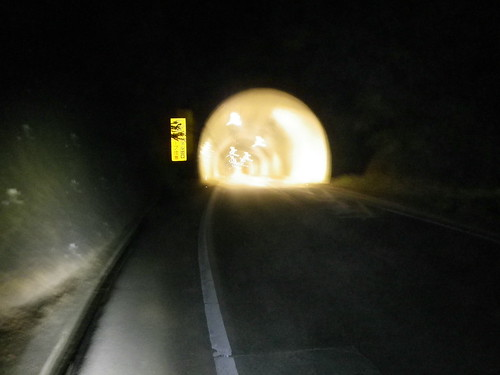 本日二度目の山伏トンネル