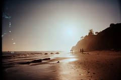 (Maddie Joyce) Tags: ocean california santa friends light sea bus film beach 35mm magic barbara leak wwwthemagicbuscollectivecom