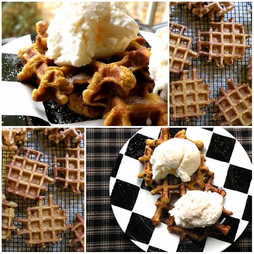 MF Pumpkin Waffle Cookies