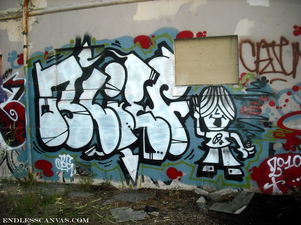 BLIEF graffiti - Oakland, Ca