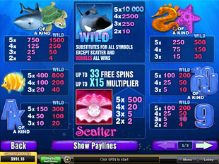 Great Blue Slots Payout