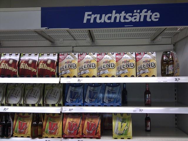 German Fruit Juices - Fruchtsäfte large image