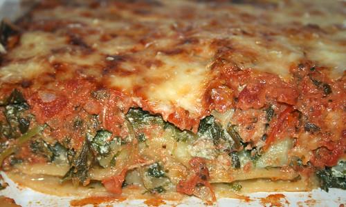 44 - Spinat-Ricotta-Cannelloni / Spinach ricotta cannelloni - CloseUp