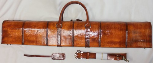 가죽공예;대금가방(Leather craft;Daegum Bag;Instrument Case)