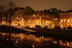 Saint-Petersburg night... (Arrival SPB) Tags: reflection water saint night russia petersburg saintpetersburg       mygearandme mygearandmepremium mygearandmebronze mygearandmesilver ringexcellence