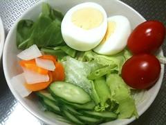 朝食サラダ(2011/10/18)