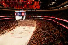 L.A. Kings at Philadelphia Flyers (katie   spence) Tags: ice philadelphia hockey nhl losangeles shift kings tilt wellsfargocenter tiltshift lakings philadelphiaflyers losangeleskings