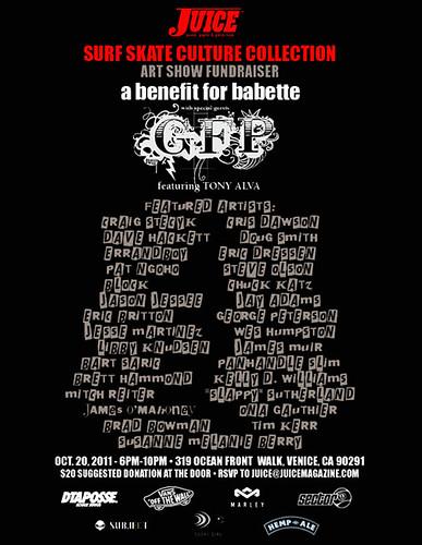 BABETTE Fundraiser