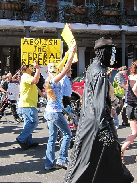 Occupy NOLA parade