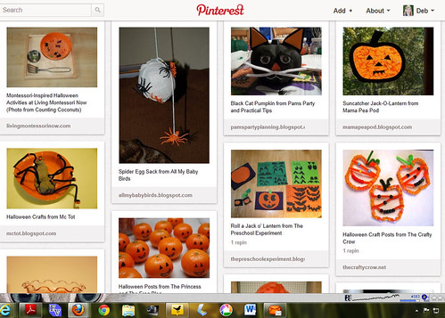 Pinterest - Kids' Halloween Activities