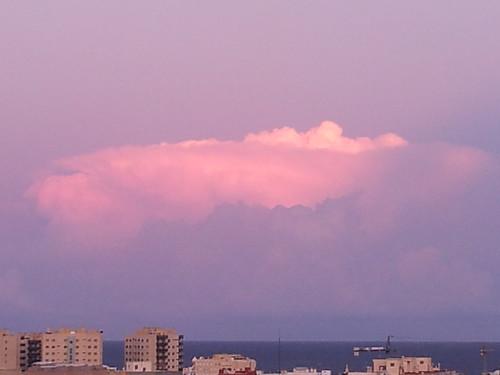 Atardecer frente al mar 20-10-2012 by Zahori.Salika