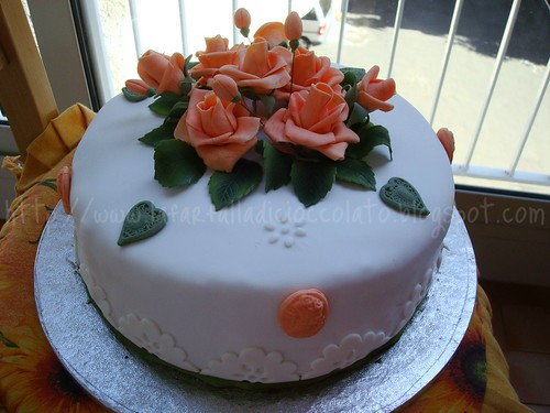 Torta Rose Cameo 4