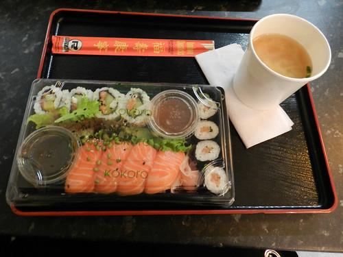 Kokoro sushi bento, Dublin