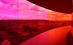 My Rainbow Panorama (little_frank) Tags: new city light sky urban orange color colour building geometric glass beautiful beauty architecture modern wonderful walking wonder denmark design town amazing nice fantastic construction europe artist cityscape place purple spectrum artistic cloudy geometry path contemporary unique horizon dream violet surreal style peaceful moma museumofmodernart experience installation danish future stunning dreamy spatial colourful lovely marvel pleasure breathtaking luce impressive olafureliasson masterpiece aarhus towering skywalker rhus marvellous modernity skywalk arhus enchanting artecontemporanea museodartemoderna aroskunstmuseum circularwalkway yourrainbowpanorama