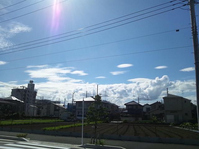 2011/09/11の空の写真