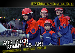 Werbekampagne Jugendfeuerwehr Sonnenberg