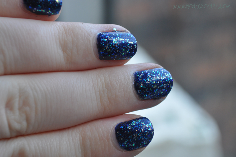 barry m navy nail polish opi last friday night notd layered 03