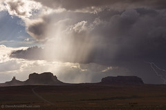 2011 Monsoons - Monument Valley shoot - Light for the monuments (Dave Arnold Photo) Tags: arizona usa storm southwest weather clouds landscape utah us photo ut niceshot desert picture pic photograph monsoon rays lightning navajo lightening monumentvalley lightrays severeweather severestorm navajonation monumet davearnold weatherscape southwestlandscape monsoonal davearnoldphotocom