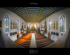 The Refuge (HDR Panorama) (farbspiel) Tags: panorama church photoshop germany logo geotagged religious temple bayern nikon worship tripod religion belief wideangle holy blended stitching photomerge spiritual stitched dri deu hdr watermark hdri blend topaz adjust superwideangle infocus 10mm postprocessing ultrawideangle photomatix digitalblending wasserzeichen tonemapped tonemapping denoise watermarking detailenhancer badhindelang d7000 nikkorafsdx1024mmf3545ged geo:lat=4750667132 geo:lon=1037063241