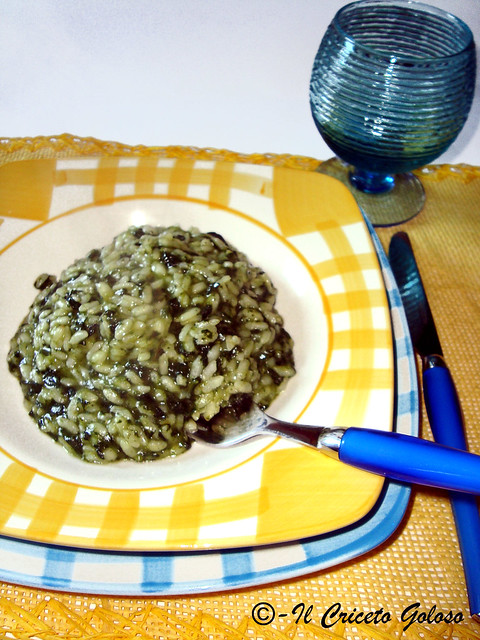 Risotto agli spinaci 2