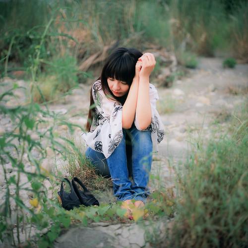 [フリー画像] 人物, 女性, アジア女性, 台湾人, 201109190900