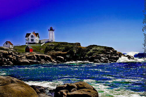 Nubble Light, York Maine-_MG_9340 by Against The Wind Images