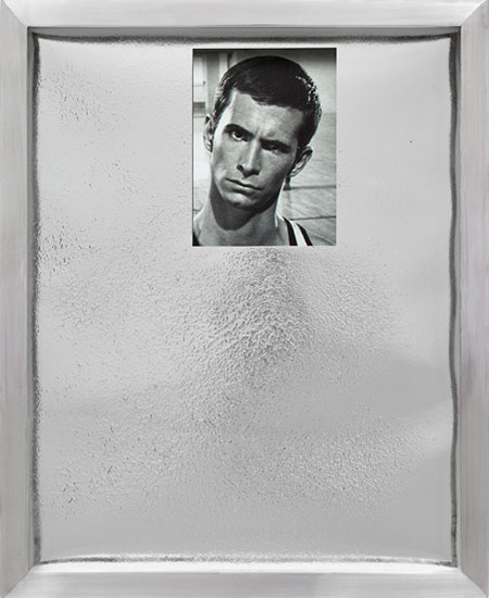 Elad Lassry, Portrait 1 (silver), 2009