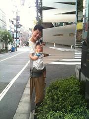 朝散歩とらちゃん(2011/9/16)