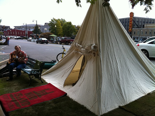 Teepee, Park(ing) Day Memphis