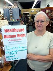 Donna Logan (Empathy Surplus) Tags: republican healthcare 45177 businessowner wilmingtonoh clintoncountyoh empathysurplusproject