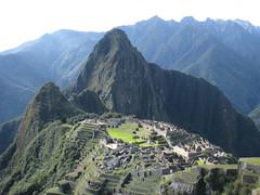 Machu Picchu. Huayana Picchu.