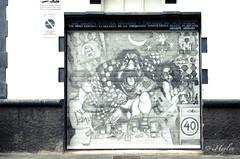"Proyecto H365/261 ""Garaje personalizado"" (iHeylen) Tags: graffiti arquitectura puerta nikon 2470 creativo d90 heylen proyecto365"