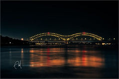 #39 Memphis, TN. Mississippi River (Abdulla Attamimi Photos [@AbdullaAmm]) Tags: light sea usa water night america river mississippi photography lights photo nikon tn state photos tennessee photographic m mississippiriver 2008 2010  abdullah amm   d90      tamimi     attamimi   desamm  altamimialtamimi    abdullaammnet abdullaammcom memphis