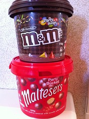bucket mms candy chocolate buckets mm maltesers milkchocolate